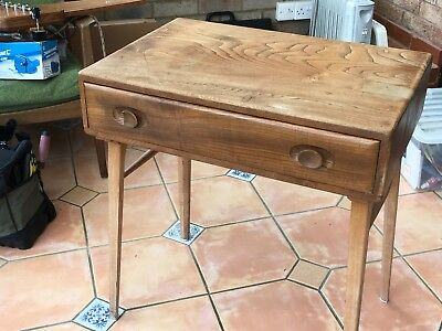 Ercol writing desk. Needs renovation.