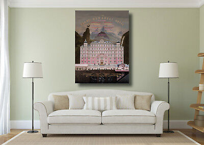 The Grand Budapest Hotel Movie Giant Wall Art Poster Print - Various Sizes