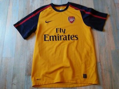 Maillot FOOT NIKE ARSENAL FLY EMIRATES  T/M/D5 TBE