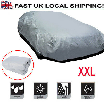 Full Protection Extra Large XXL Heavy Duty UV Car Cover Resistant Proof Protable