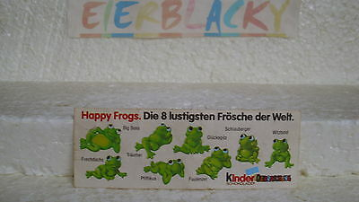 """ Rare "" Bpz "" Happy Frogs  ""original"""