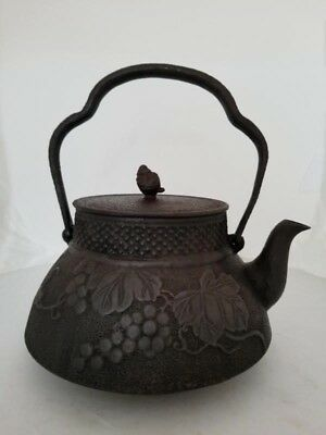 Japanese antique cast  Iron Tea Pot