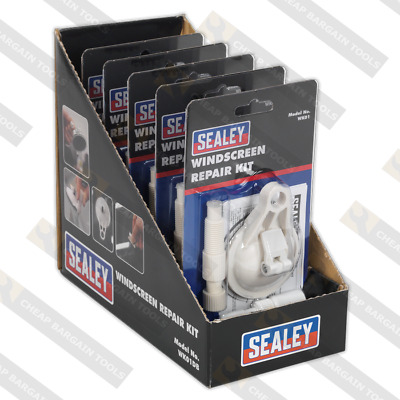 Windscreen Repair Kit Display Box of 5