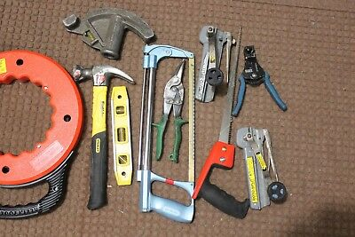 Klein Fish Tape Reel 120' Electrician Tools Electrical Tools Electrician's Lot