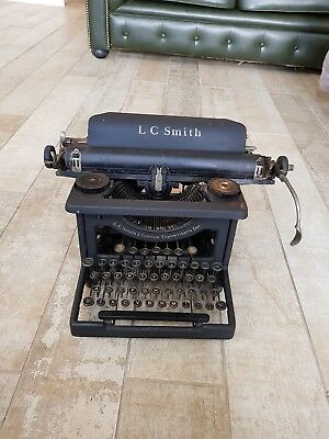 vintage Lc smith corona typewriter