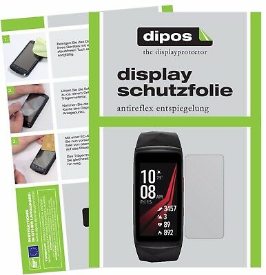 6x Samsung Gear Fit 2 Pro Schutzfolie matt Displayschutzfolie Folie Display