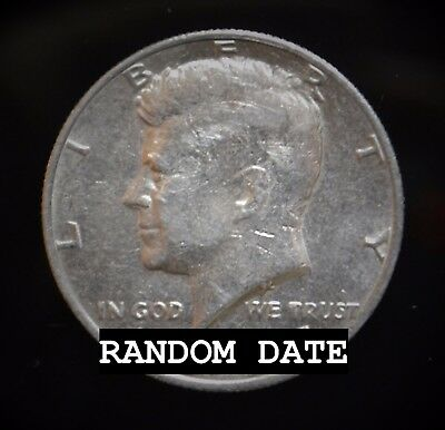 (1) Random Date 1964-2017 Kennedy Half Dollar 50 Cents Coin Sale - Hard To Find!