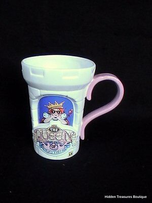 Mary Engelbreit Queen of Everything Embossed Castle Mug 2000 Teleflora