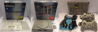 Gioco Game Console Play SONY Playstation 1 PSX - PS1 VALUE PACK + Cavi + Joypad