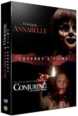 Annabelle + Conjuring : les dossiers Warren COFFRET DVD NEUF SOUS BLISTER