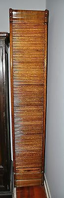 Antique Oak Roll-Front Pharmacy Cabinet Pettus Drug Store Crab Orchard, Kentucky