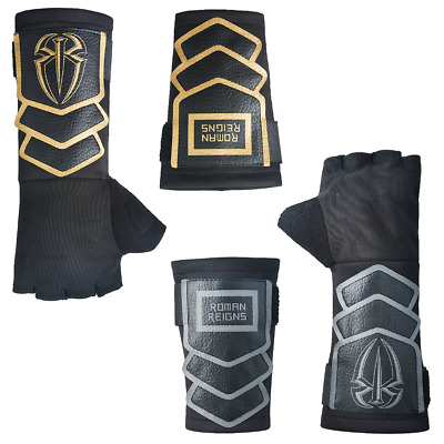 ~Double Pack~ Official Wwe Replica Roman Reigns Glove & Wristband Mask Wrestling