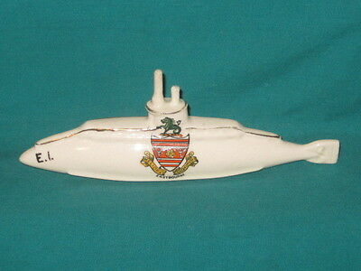 Savoy China WW1 E.1. Submarine - 'Commander Noel Laurence Large German Trans...'