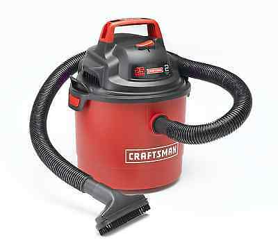 Craftsman Portable Wet Dry Mount 2.5 Wall Gallon 2Peak Garage Car Ridgid Cleaner