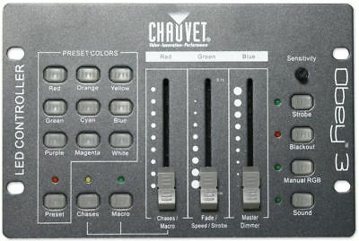 Chauvet DJ Obey 3 Universal Dmx 512 Controller With 3 Channels