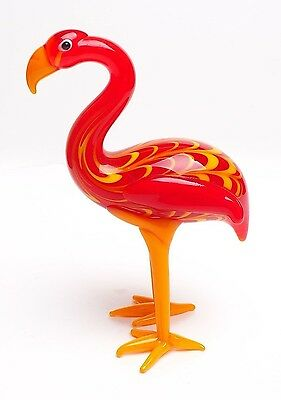 Fitz And Floyd Glass Menagerie Flamingo-New In Box