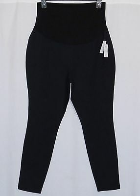 Old Navy Maternity Leggings Thick NEW NWT 2017 XL Navy Black Full Panel X LARGE