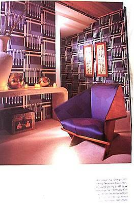 FRANK LLOYD WRIGHT, WALLCOVERINGS (POSSIBLE to FRAMe),TALIESIN WEST & BONUS BKS