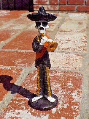 Day Of The Dead Mariachi Trumpet Player Musician Mexico With Free Shipping