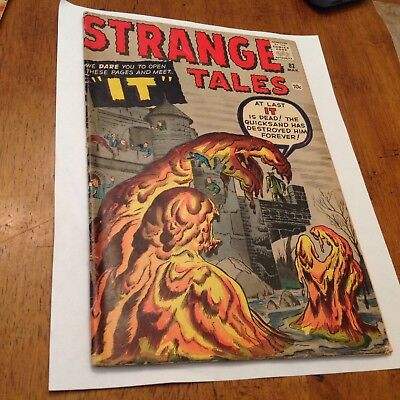 STRANGE TALES #82 (Mar 1961, Marvel) Kirby, Ditko THE THING CALLED IT! Nice book