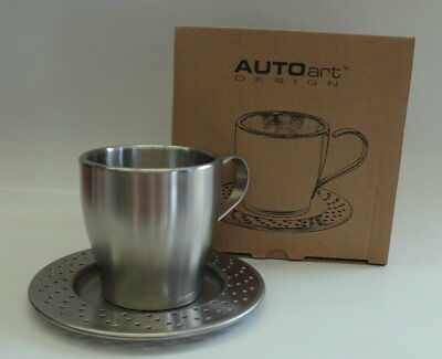 AUTOart Brake Rotor Stainless Steel Cup & Saucer