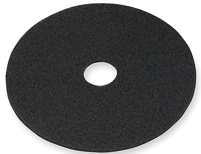 NEW! 5-Pack, 3M 7200 BLACK FLOOR STRIPPING PAD, 19""