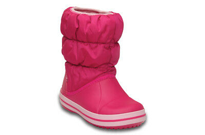 Chaussures Enfants Junior Sneakers Crocs Winter Puff [14613 Candy Pink]