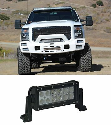 6 inch LED WORK LIGHT BAR SPOT FLOOD COMBO SUV UTE ATV OFFROAD JEEP TRUCK 4 8