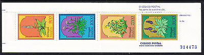 Portuguese Madeira 1983 Plants Booklet - Mint