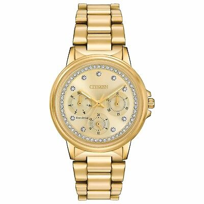 Citizen Eco-Drive Silhouette Women's FD2042-51P Refurbished Gold-Tone 36mm Watch