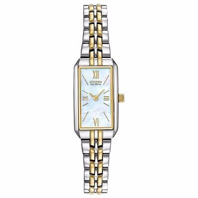 Citizen Eco-Drive Women's EG2694-59D Refurbished Two-Tone Bracelet 15mm Watch