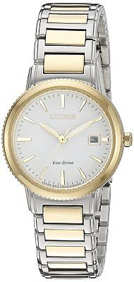 Citizen Eco-Drive Women's EW2374-56A Two-Tone Sport Bracelet 27mm Watch