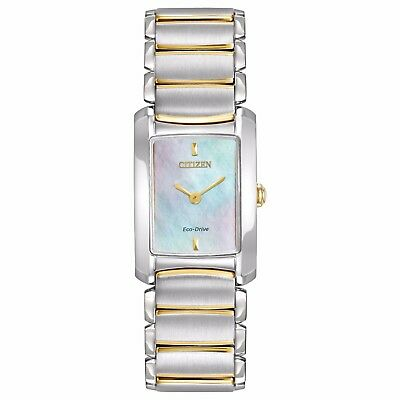 Citizen Eco-Drive Euphoria Women's EG2974-52D Refurbished Two-Tone 20mm Watch