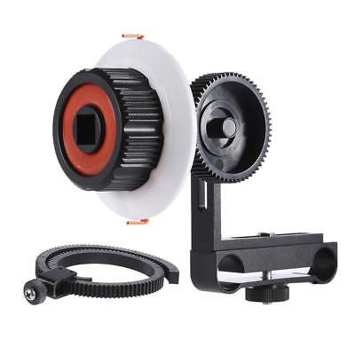 DSLR Follow Focus Quick Release w/ Flexible Gear Ring Belt for Canon Camera