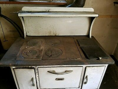 Vintage Kalamazzo Wood Burning Oven and Stove- Champion Model