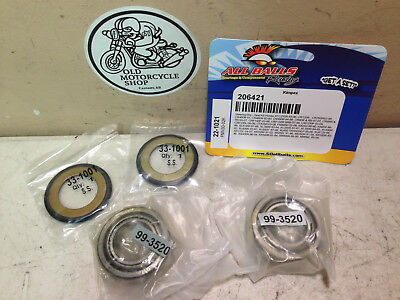 NOS 1981-17 HONDA Models (see our list) Steering Bearing & Seal Kit OEM 22-1021