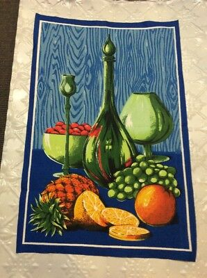 VINTAGE RETRO Tea Towel