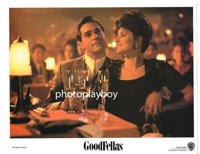 Lorraine Bracco Ray Liotta Wise Guys Mafia Rat Goodfellas Scorsese Lc #1 1990