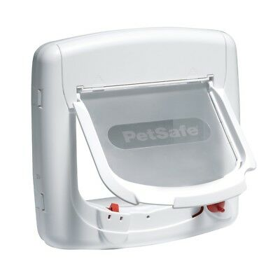 New Staywell Deluxe Magnetic Cat Flap Door Set - For Cats & Small Dogs