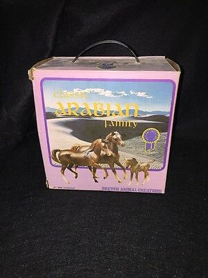 Vintage Breyer Classic Arabian Family No. 3055 Chestnut In Box