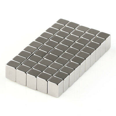 10/50 x N50 8*6*5mm Strong Square block Rare Earth Neodymium Magnets W/Box US