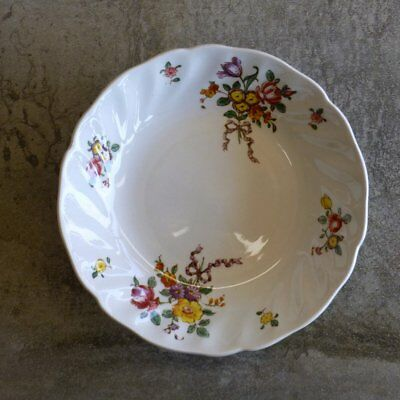 Vintage Royal Doulton Old Leeds Sprays Dessert Bowl D6203 Floral Small England