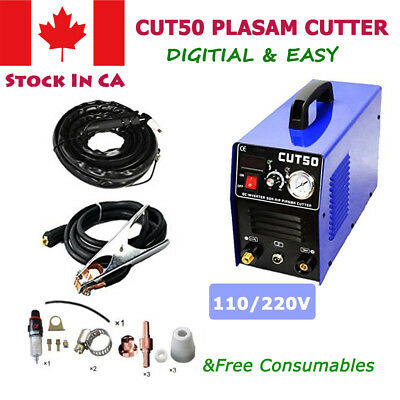 CUT50 Plasma Cutter Plasma Cutting Machine Welder Companion 50Amps 110V/220V
