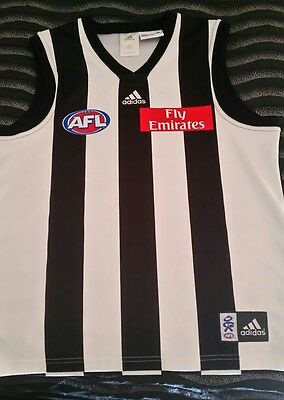 AFL Collingwood Magpies Football Jumper Guernsey Size M Mens