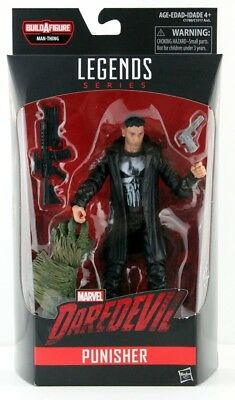 Marvel Legends Punisher. Netflix. Man Thing BAF. 6 Inch Action Figure.