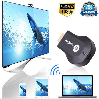 Miracast DLNA Airplay HDMI HD TV Dongle Receiver For IOS Android 4.4 Smart Phone