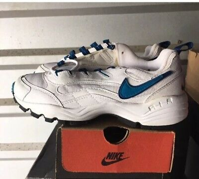 best website 0ab4b eaf73 Vtg Nike Air Aegis White Blue 6 6.5 Womens cross trainer 1997 103037-141