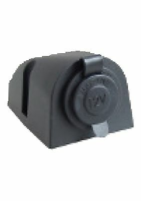 Marine/RV/Caravan Black Cigarette Lighter Socket 12 V Power Outlet
