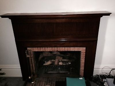 Fireplace Mantle And Accessories