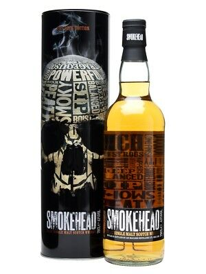 Smokehead Islay Single Malt Scotch Whisky (700ml)